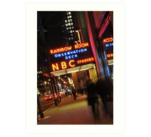 Saturday Night Live - NBC Studios Art Print