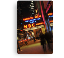 Saturday Night Live - NBC Studios Canvas Print