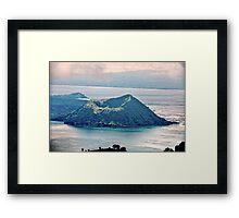 World's Smallest Volcano Framed Print