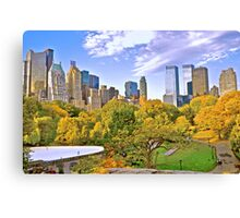 Wolllman Rink, Central Park - New York Canvas Print