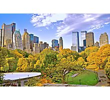 Wolllman Rink, Central Park - New York Photographic Print