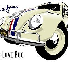VW Beetle Herbie the Love bug by car2oonz