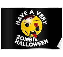 Have a very Zombie Halloween - for Kids Poster