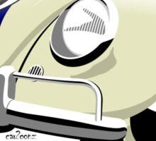 VW Beetle Herbie the Love bug Sticker