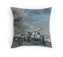 Industrial Trail Throw Pillow