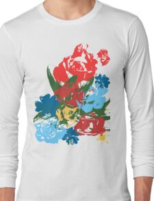 Rose Bouquet Long Sleeve T-Shirt