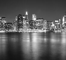 Lower Manhattan in Black and White by Shutter and Smile Photography