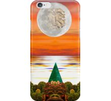 The Green Man in the Moon iPhone Case/Skin