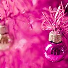 Pink baubles by Zoe Power