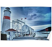Lighthouse at Lake Otsego - Cooperstown, NY Poster