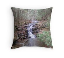Lazy Water Fall Throw Pillow