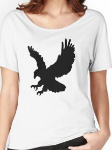 Eagle Silhouette Women's Relaxed Fit T-Shirt