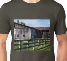 WEATHERED EQUESTRIAN FARM Unisex T-Shirt