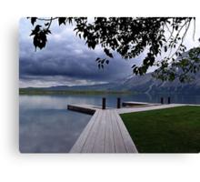 Evening Silence, Linnet Lake Canvas Print