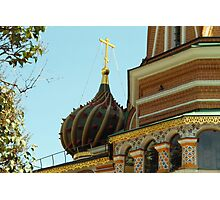 Onion Dome in Moscow  Photographic Print