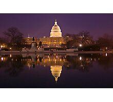 US Capitol - Washington, DC Photographic Print