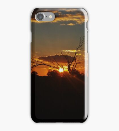 Sunset Golden Outback iPhone Case/Skin