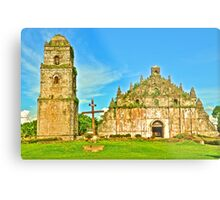 St. Augustine Church - A UNESCO World Heritage Site Metal Print