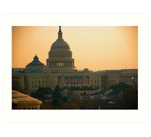 Obama Inauguration - Washington, DC Art Print