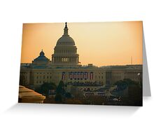 Obama Inauguration - Washington, DC Greeting Card