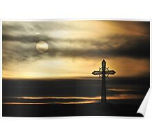 Cross on the Hill Poster