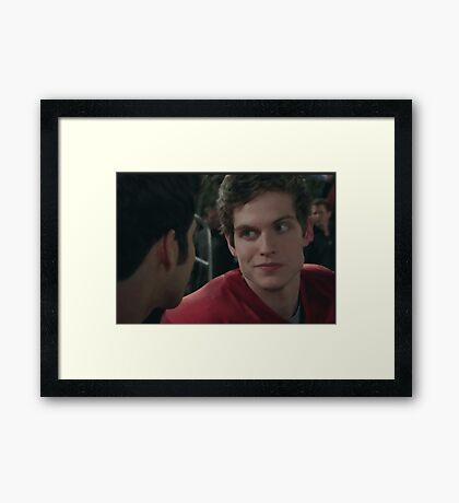 I CAME TO WIN [ISAAC] Framed Print