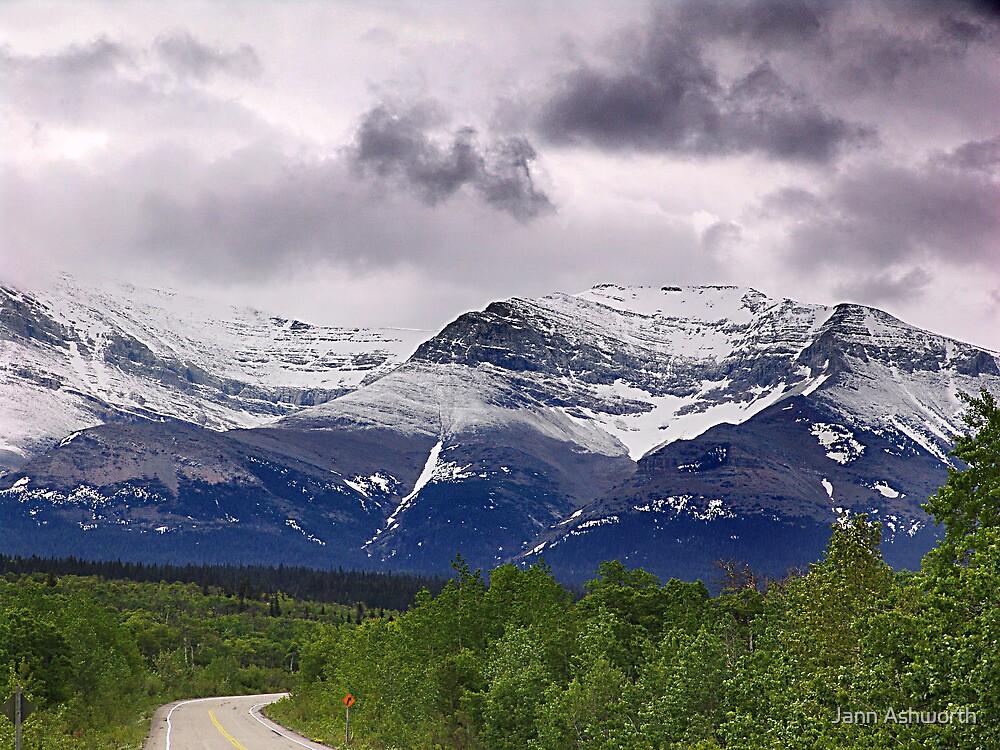Chief Mountain Road by Jann Ashworth