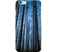 blue sky through the trees iPhone Case/Skin