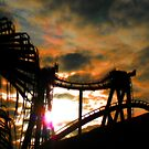 Sunset Coaster by designerbecky