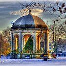 Festive Season at Salem Common by Monica M. Scanlan