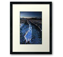 Crisp Christmas Morning Framed Print