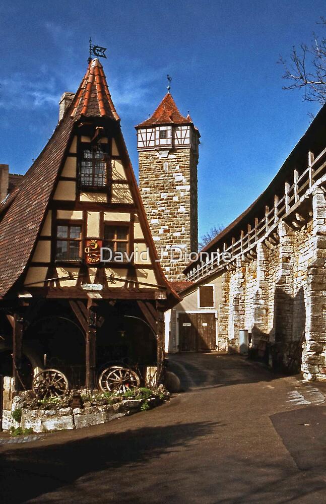 Alte Schmied - Rothenburg 1985 by David J Dionne