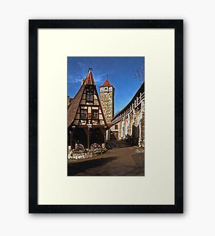 Alte Schmied - Rothenburg 1985 Framed Print