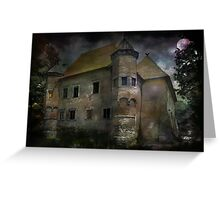 Castle in Dębno .... Greeting Card