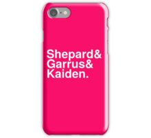 Mass Effect Names - 3 iPhone Case/Skin
