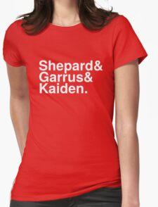 Mass Effect Names - 3 Womens Fitted T-Shirt