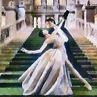 Dancing in Vienna by Gilberte