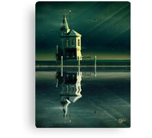 Castle in the Water Canvas Print