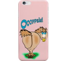oooopsie iPhone Case/Skin