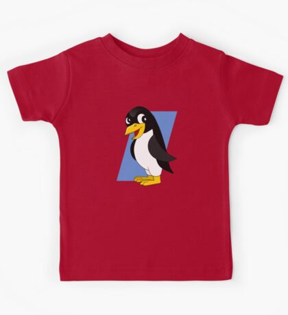 Cute penguin cartoon Kids Tee