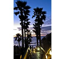 leucadia sunset 2 Photographic Print