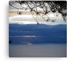 torrey sunset Canvas Print