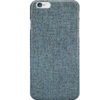 Texture of the fabric of the thick filaments closeup iPhone Case/Skin