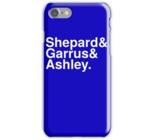 Mass Effect Names - 4 iPhone Case/Skin
