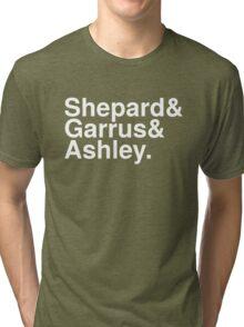 Mass Effect Names - 4 Tri-blend T-Shirt