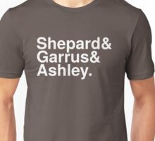 Mass Effect Names - 4 Unisex T-Shirt