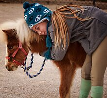 She Loves Her Pony by Renee D. Miranda