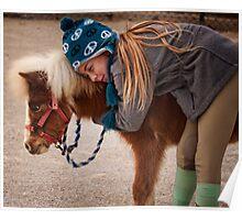 She Loves Her Pony Poster