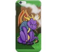 Spyro the Rebel iPhone Case/Skin