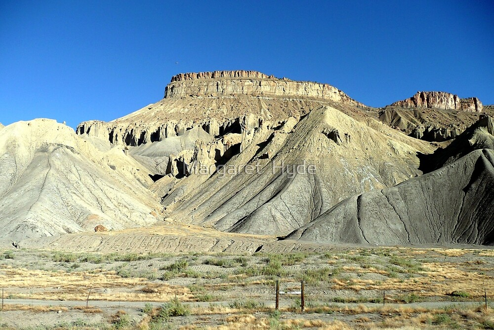 Hills near Grand Junction, Colorado by Margaret  Hyde